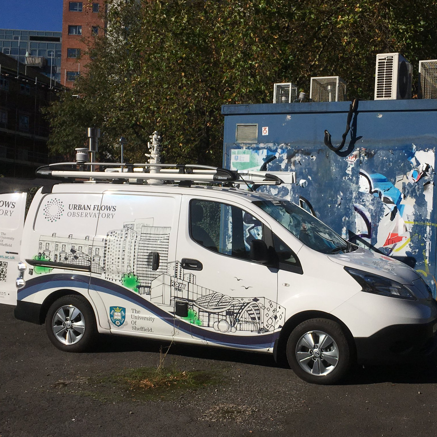 Sheffield Urban Flows Observatory Mobius Vehicle